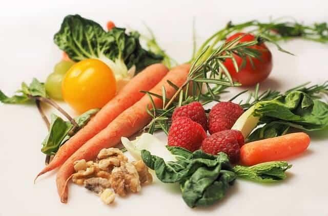 antioxidants carrot kale