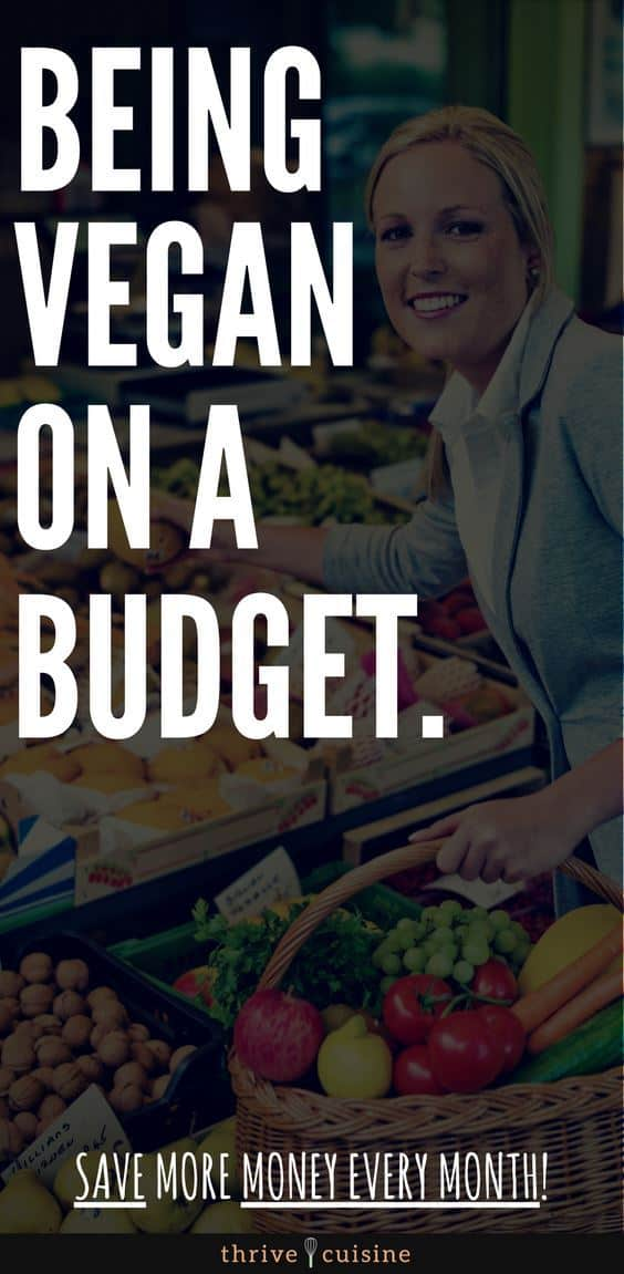 going vegan on a budget hero image