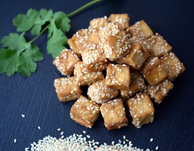 tofu high protein vegan