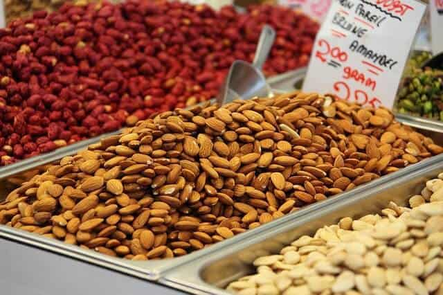 vegan nuts and seeds protein