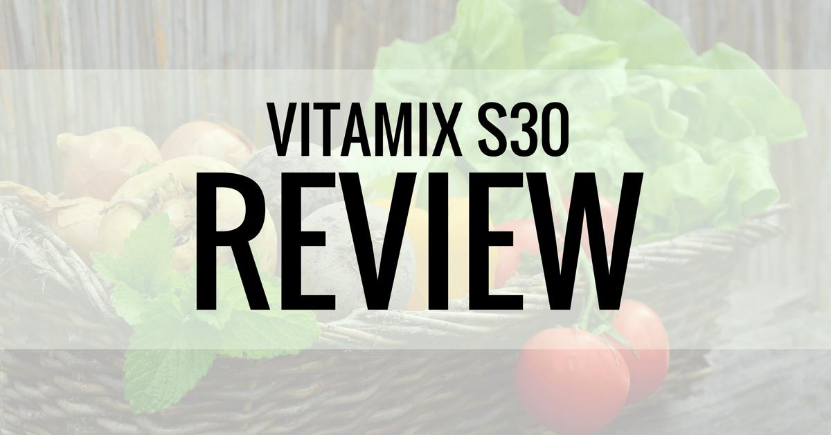 vitamix s30 review