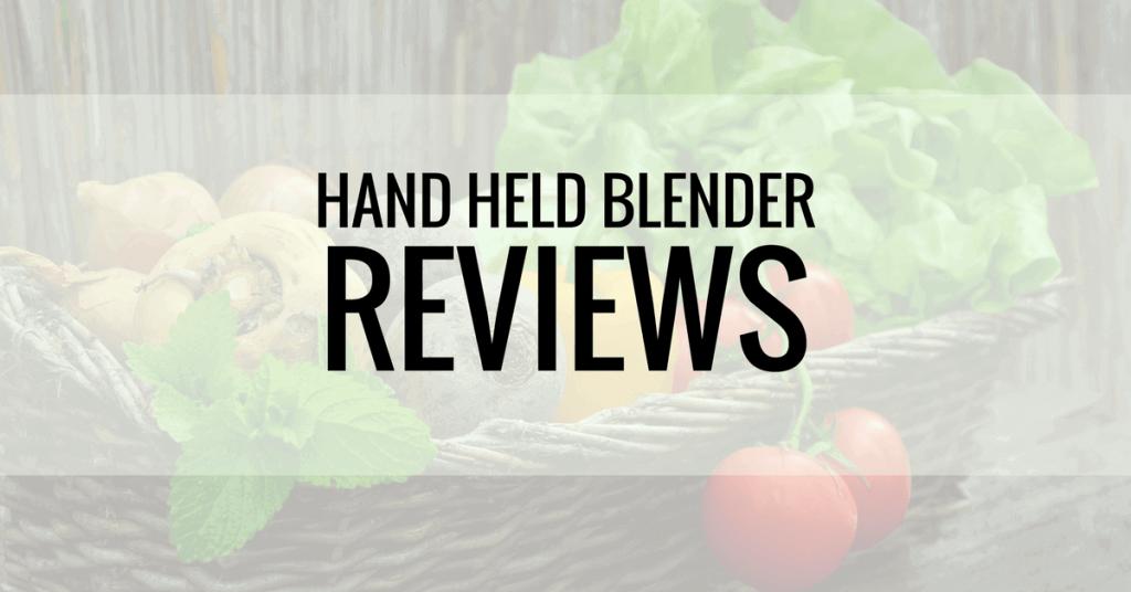 best hand held blender reviews