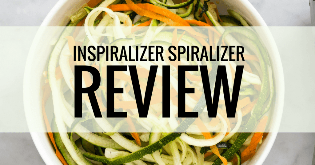 inspiralizer spiralizer product review