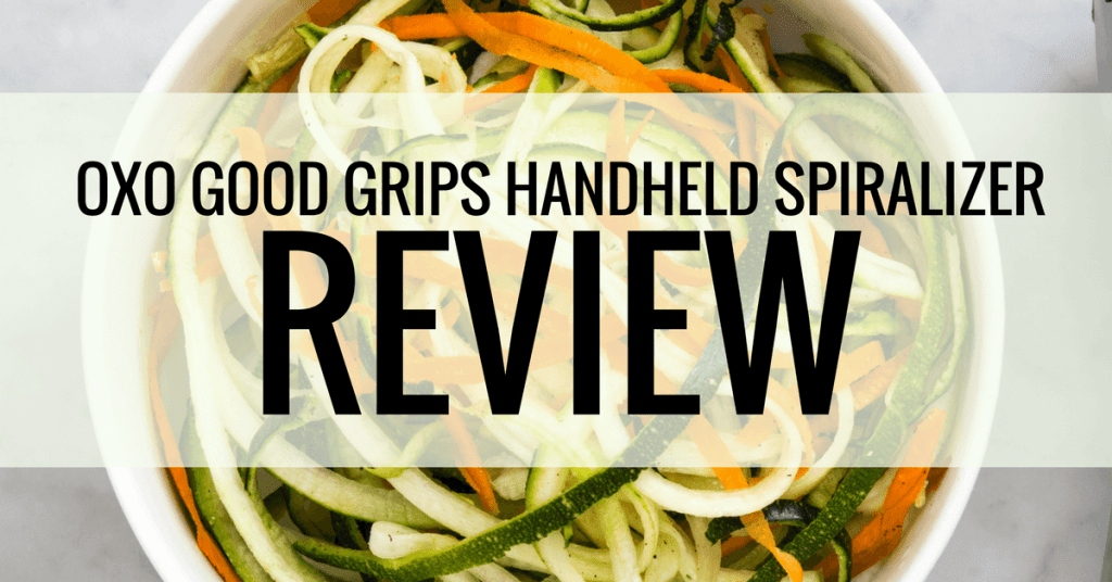 oxo good grips handheld spiralizer review