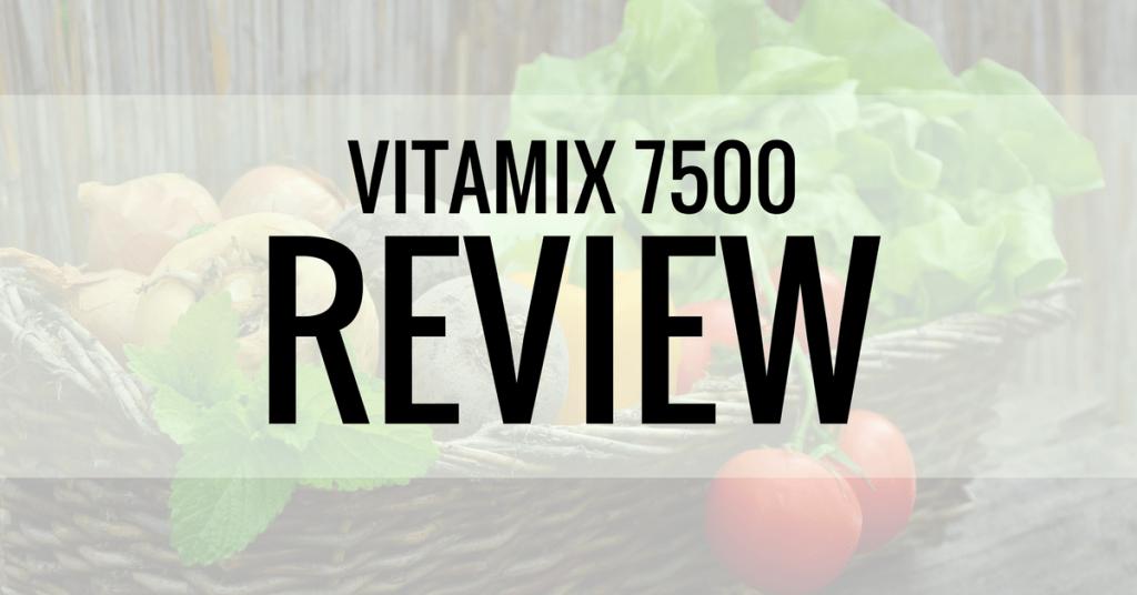 vitamix 7500 review new