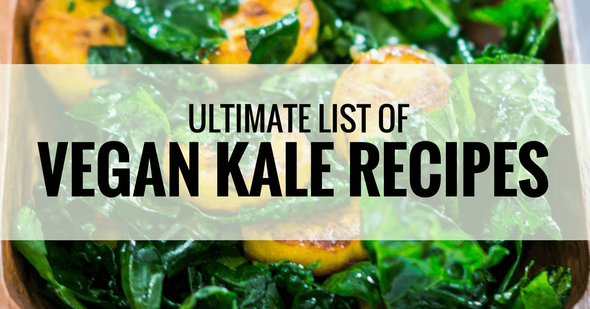 best vegan kale recipes