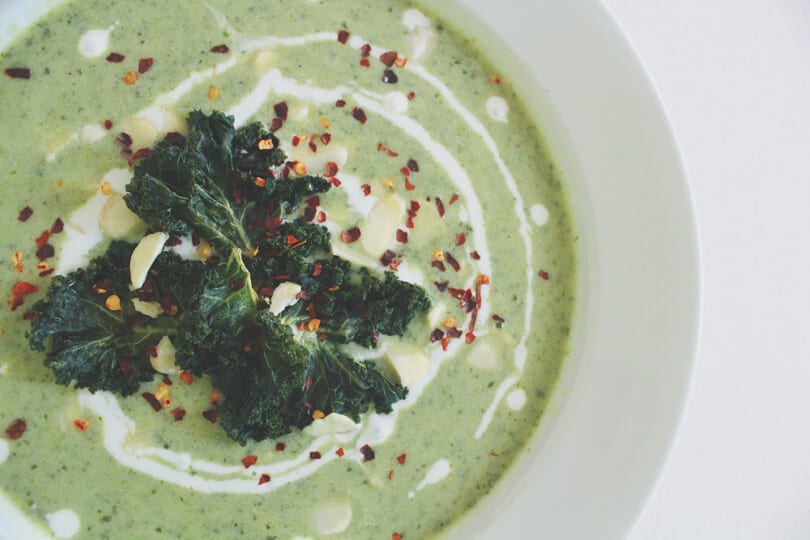 broccoli kale soup