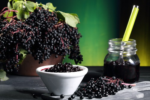 elderberry extract influenza
