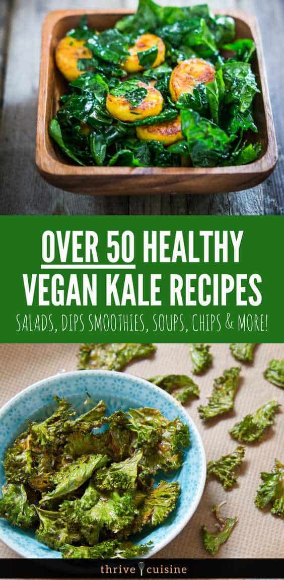 Healthy Kale Recipes | Healthy Vegan Recipes | Healthy Soup Recipes | Healthy Smoothie Recipes | Healthy Chip Recipes - #healthyfoods #healthylife
