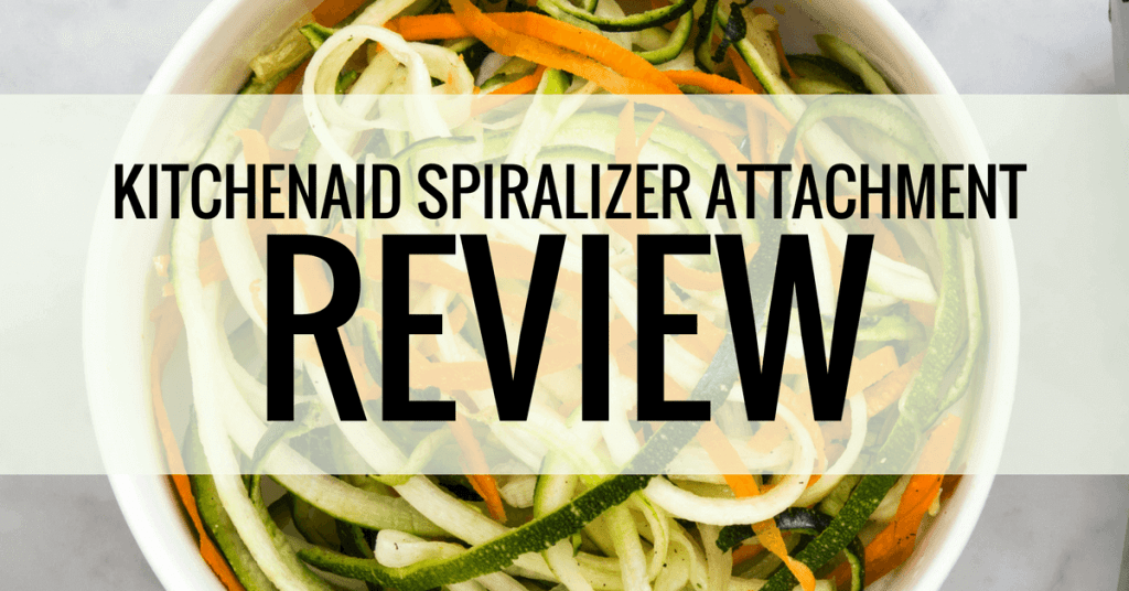 kitchenaid spiralizer attachment. kitchenaid spiralizer attachment review