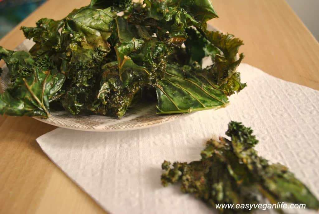 maple bacon kale chips easy veagn life
