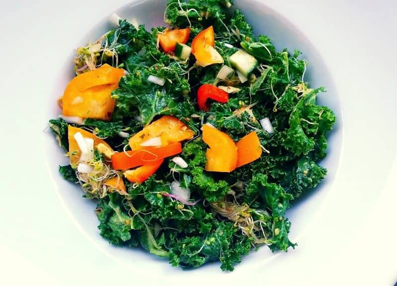 soul in the raw masaged kale salad (1)