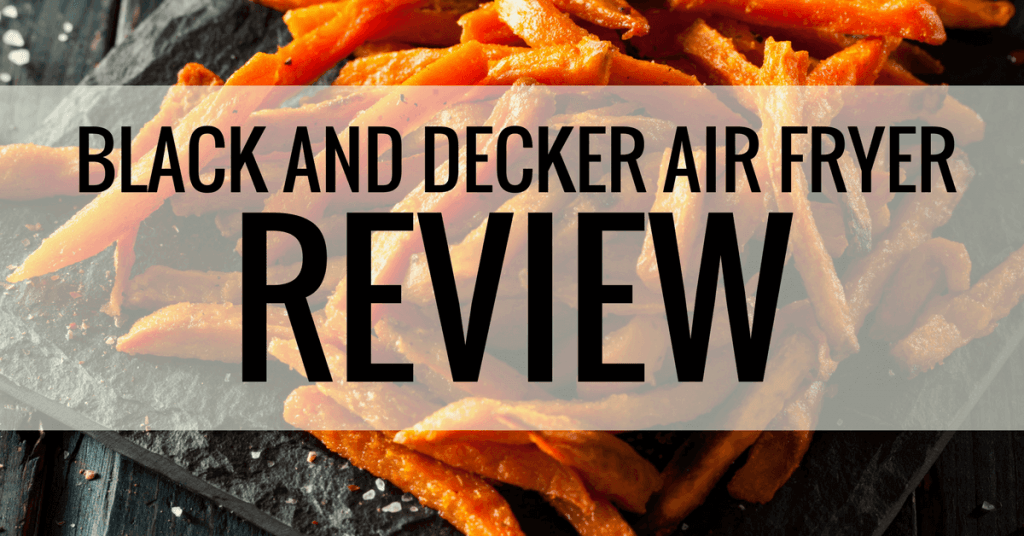 black and decker air fryer review