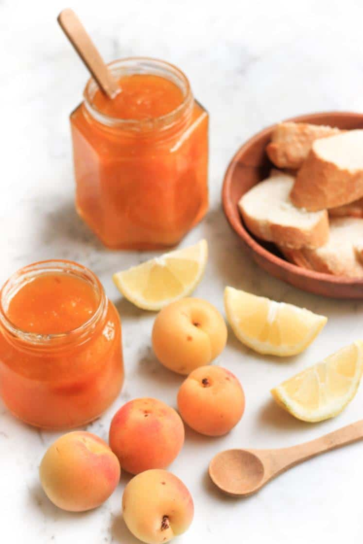 easy apricot jam by dish by dish