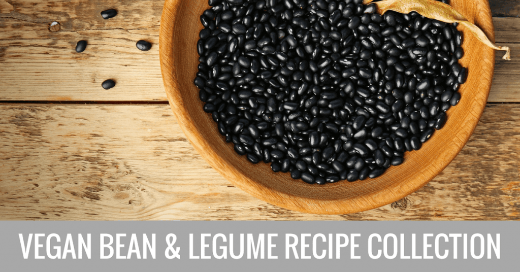 vegan bean and legume recipe collection