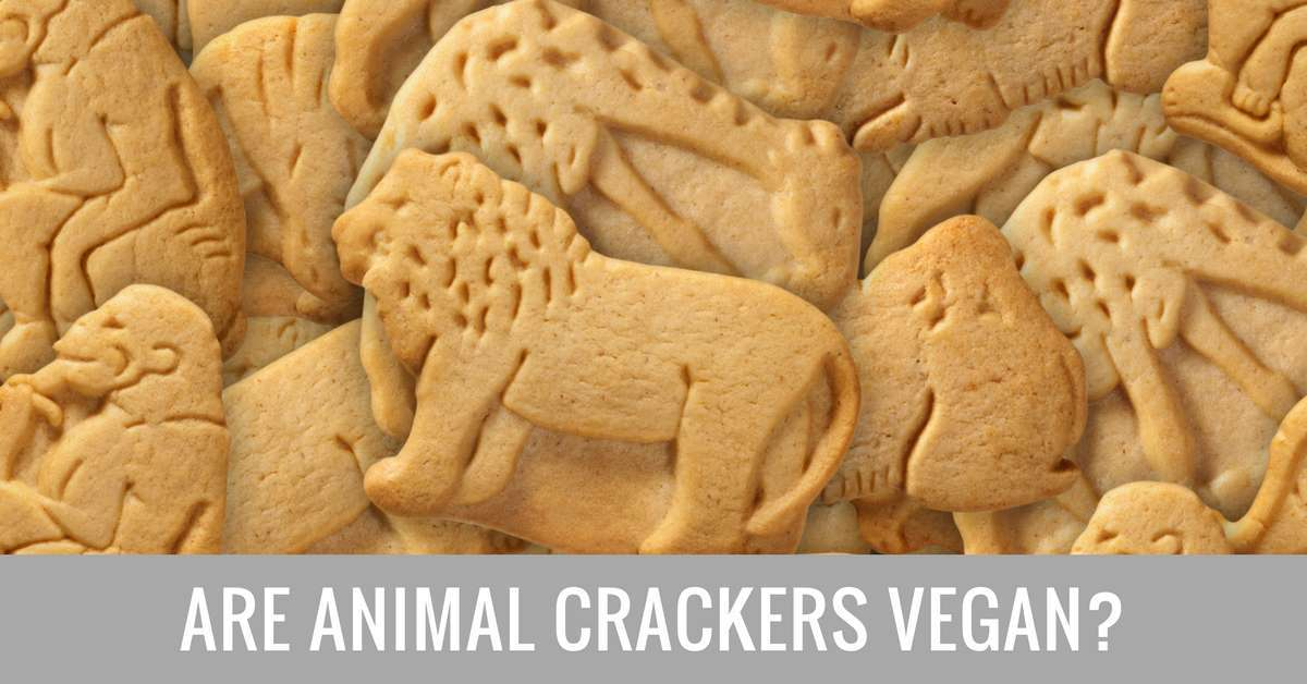 are animal crackers vegan