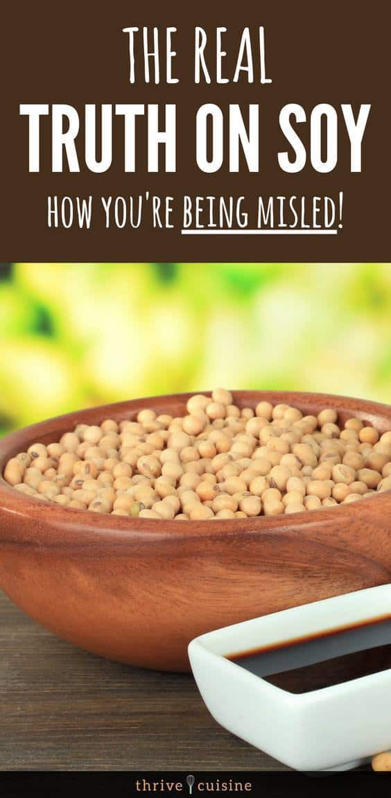 Are there any dangers of eating soy? Or is it a healthy food? We expose the truth and misinformation. #healthyeating #healthylife