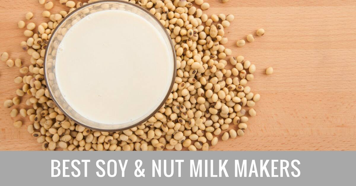 best soy and nut milk maker