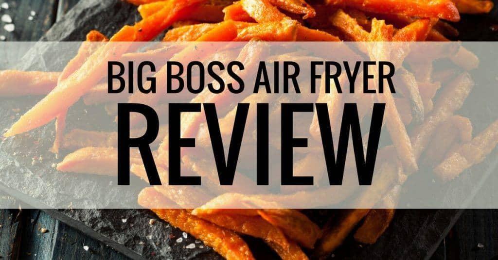 big boss air fryer review