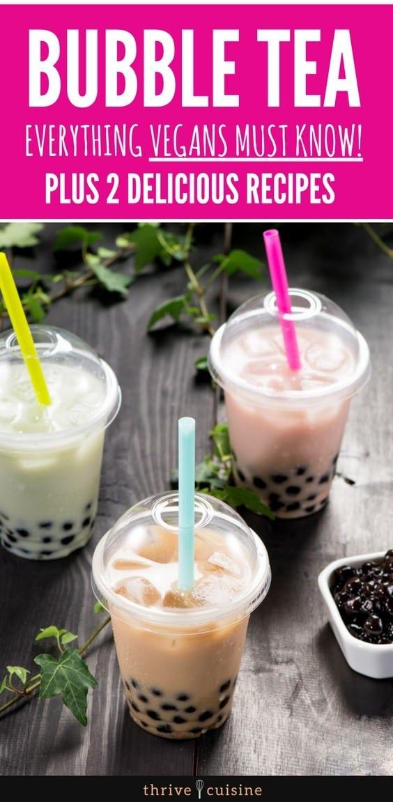 How to Make Vegan Bubble Tea | Boba Tea | Vegan Drinks | Vegan Tips | Vegan Food #vegan #vegantips  #vegansnacks