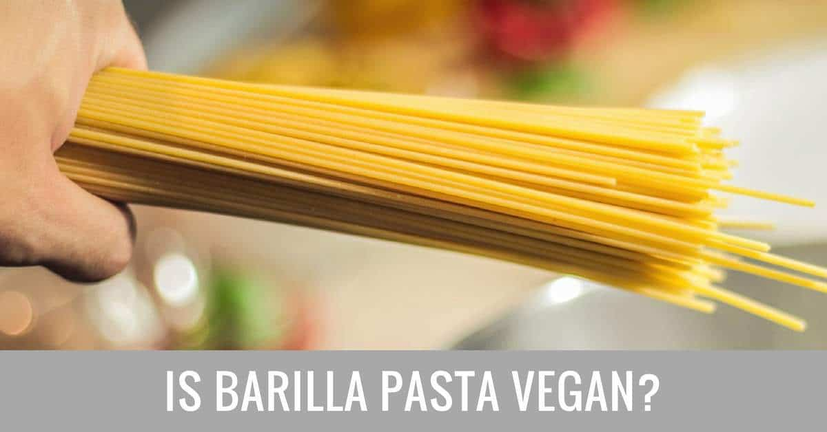 is barilla pasta vegan