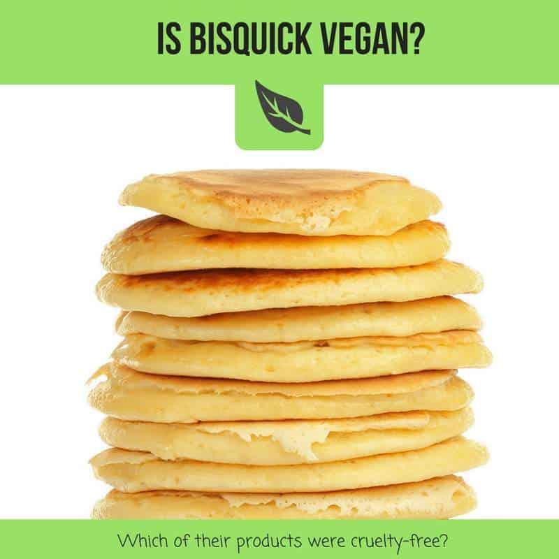 is bisquick vegan