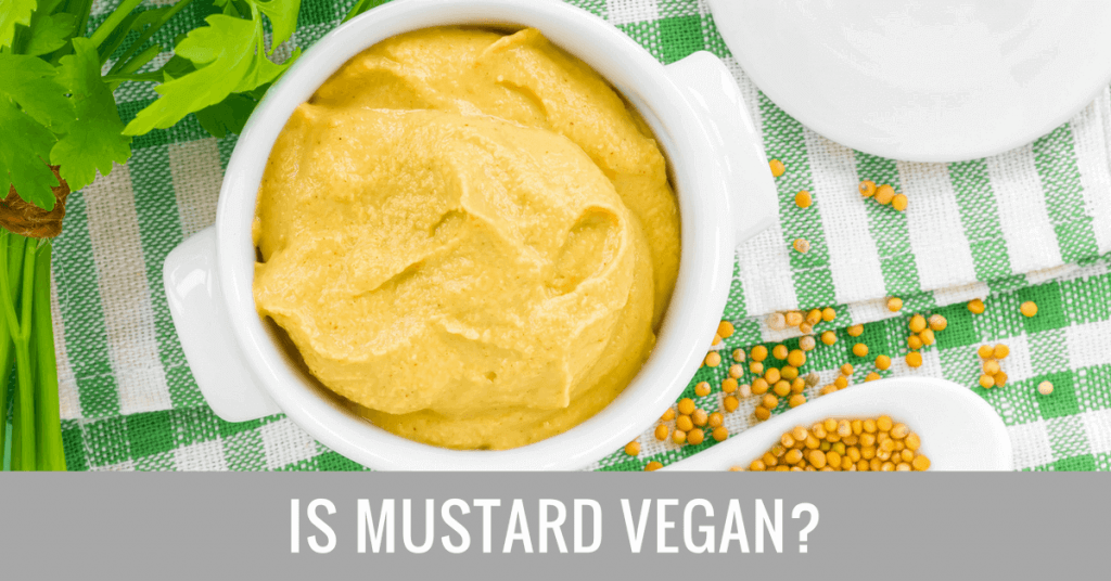 is mustard vegan