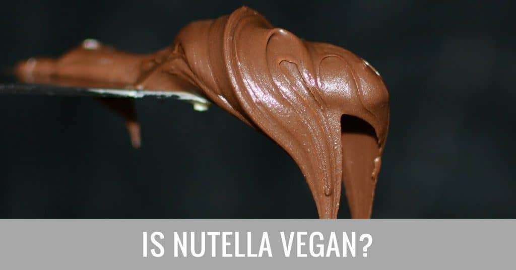 is nutella vegan