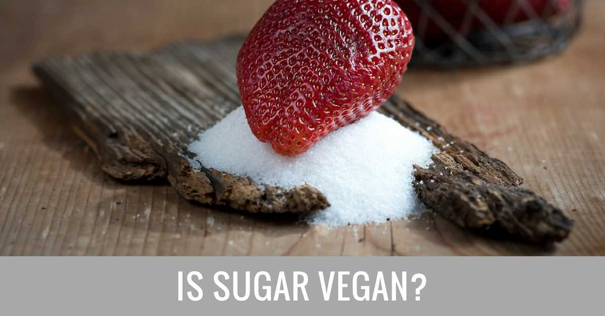 is sugar vegan