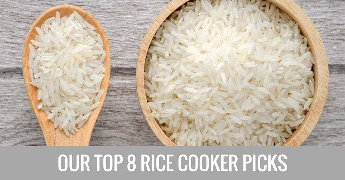 top 8 rice cooker picks banner image