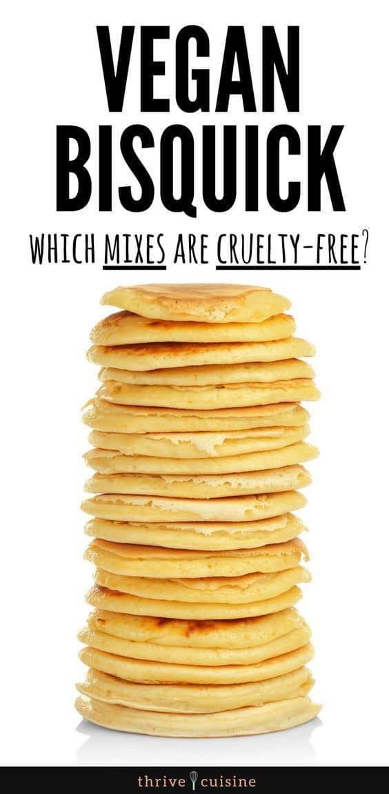 Vegan Pancake Mix Brands | Vegan Bisquick Mixes | Vegan Tips | Vegan Foods | Vegan Lifestyle #veganlifestyle #vegantips