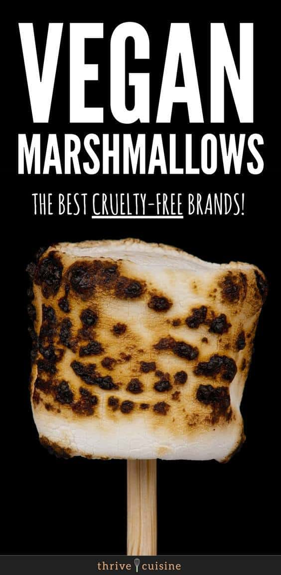 Vegan Marshmallow Products | Vegan Marshmallow Brands | Vegan Baking | Vegan Lifestyle #vegan #vegantips #veganfoods