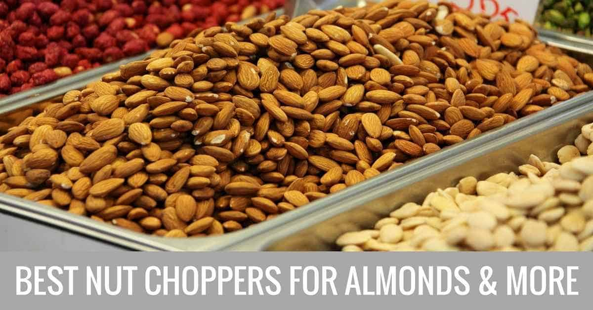 best nut choppers for almonds and more