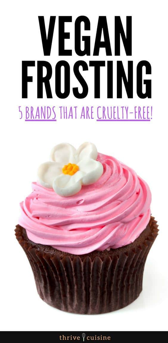 Best Vegan Frosting Brands | Vegan Tips | Vegan Food | Vegan Baking - #vegan #vegantips  #veganbaking
