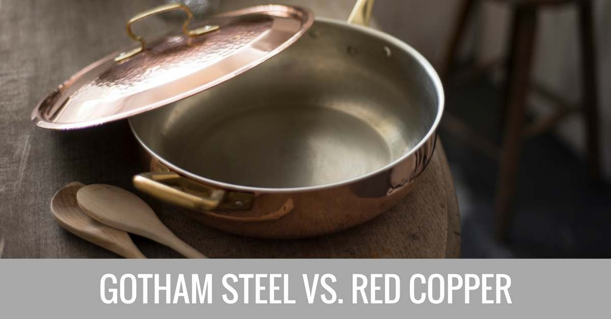 gotham steel vs red copper