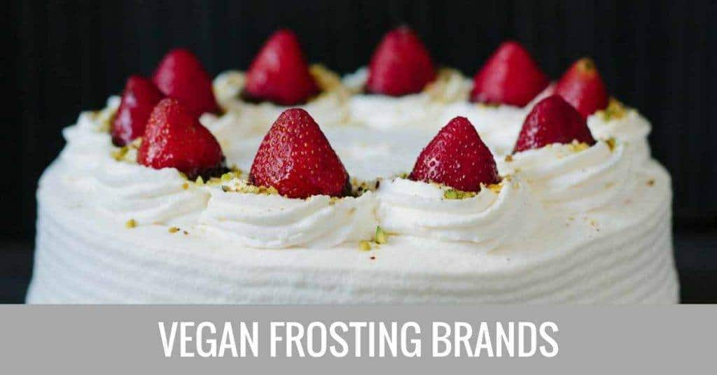 vegan frosting brands