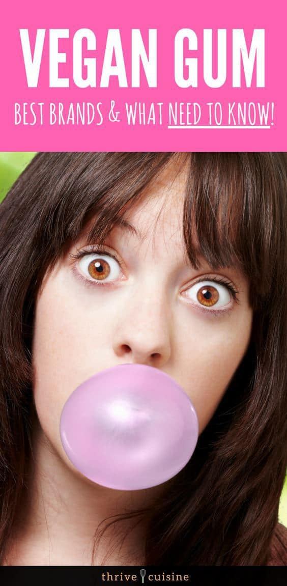 Vegan Gum Brands | Vegan Tips | Vegan Snacks | Vegan Candy | Vegan Tips - #vegan #vegantips  #vegancandy