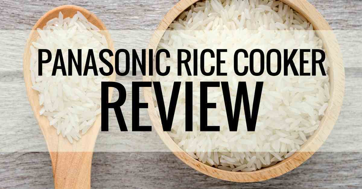 panasonic rice cooker review
