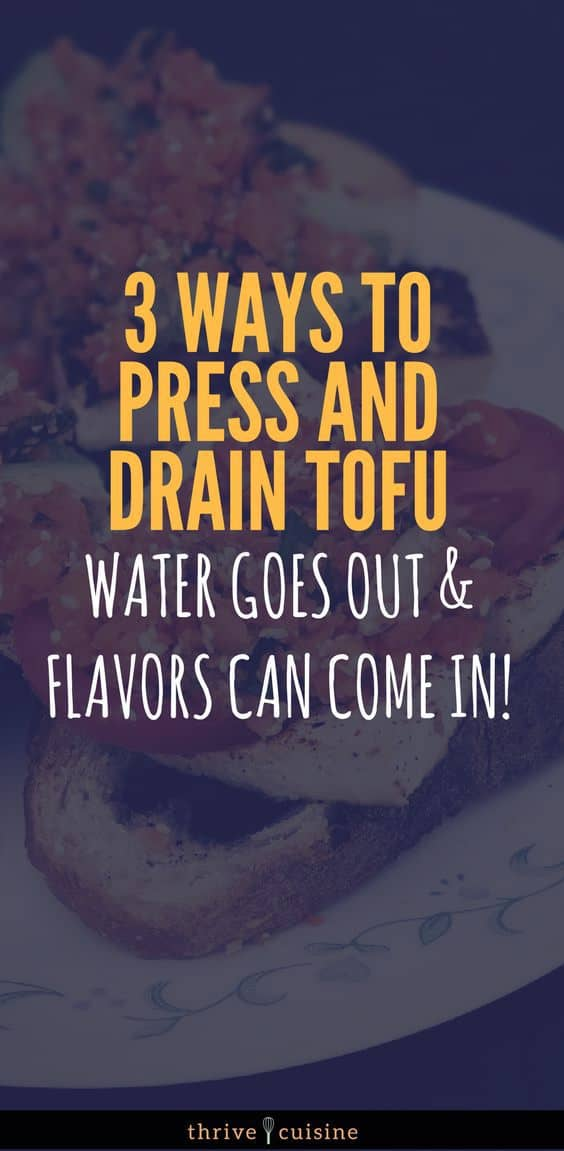 We explore the difference between tofu press products and a DIY tofu press in our experiment on pressing and draining tofu. #tofu #vegan #vegantips