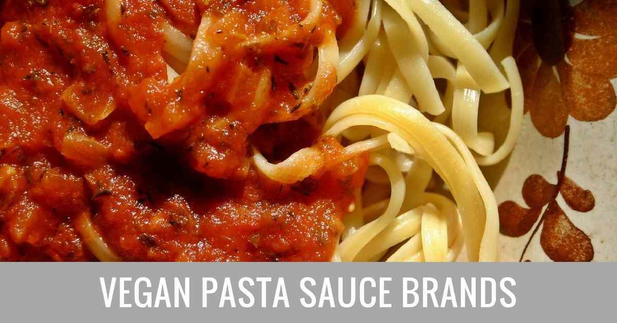 vegan pasta sauce brands
