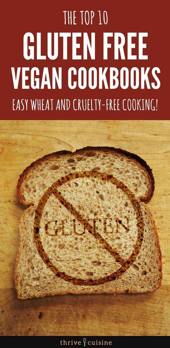 best gluten free vegan cookbooks