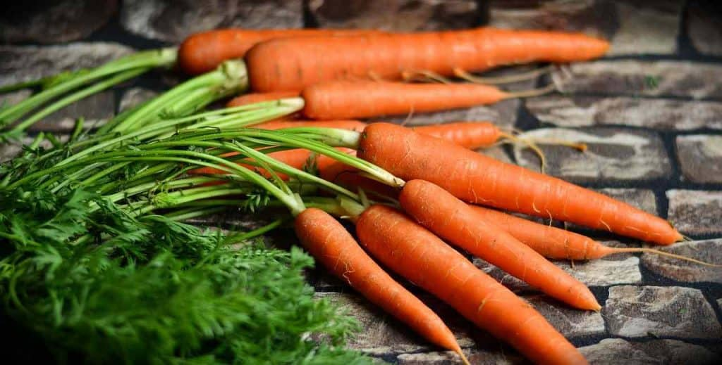 carrots ready for blending