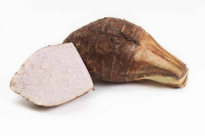 picture of a taro root vegetable