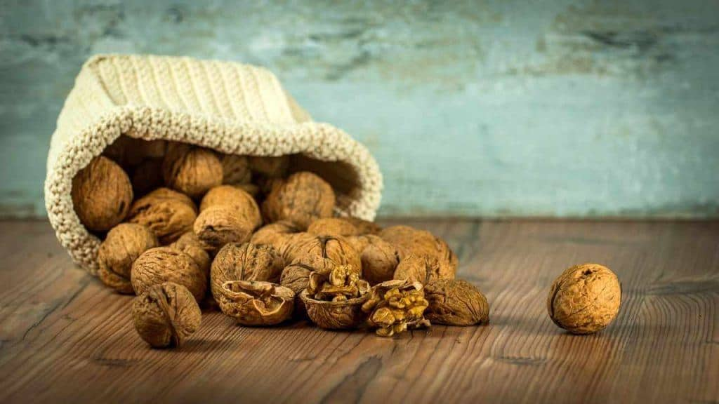 picture of walnuts in a bag