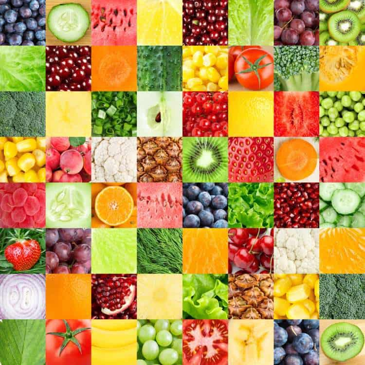 foods rich in phytochemicals collage