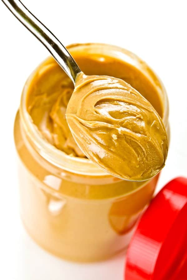 opened jar for peanut butter