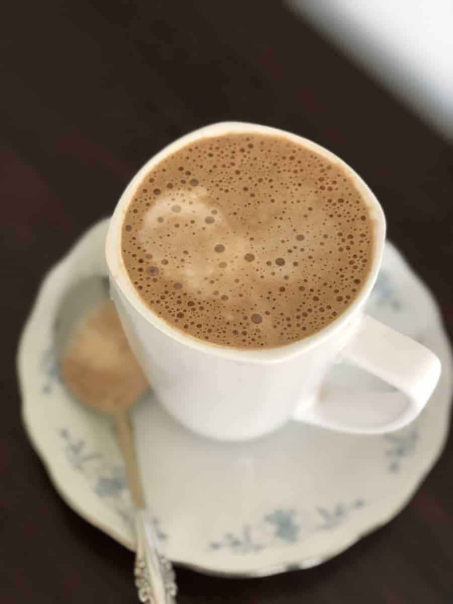 peanut butter coffee with spoon main image