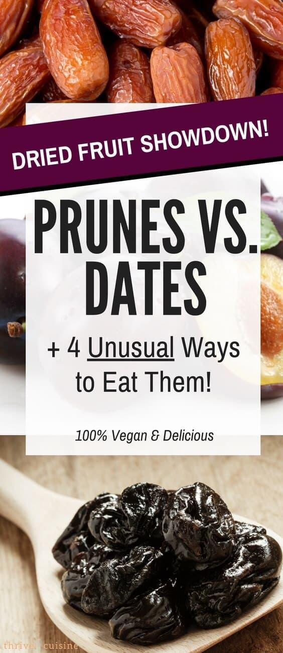 Vegan Recipe Ideas | Dates | Prunes | Vegan Baking | Healthy Vegan Recipes #whatveganseat #dates #prunes #veganfood #healthyfood