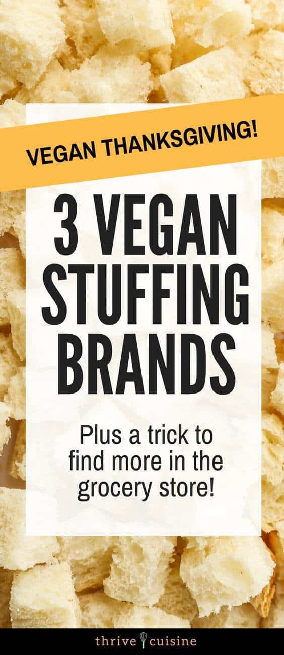 3 Easy Vegan Stuffing Brands To Check Out For The Holidays