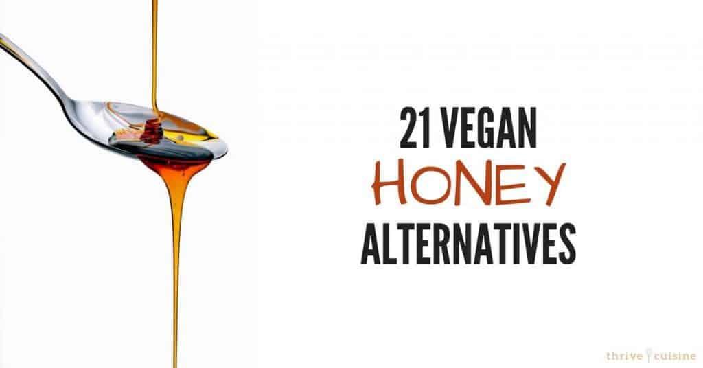 21 vegan honey alternatives